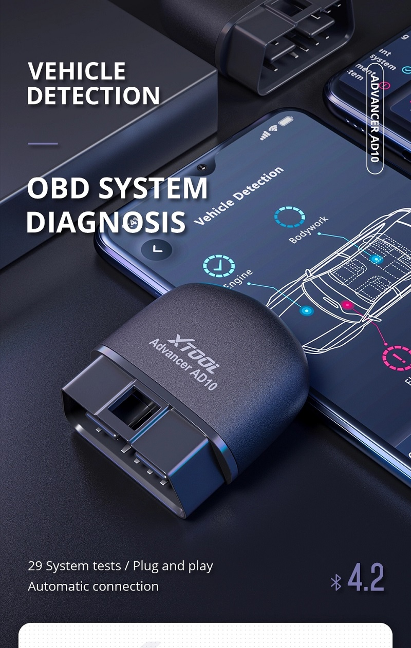 OBDII diagnostic tool