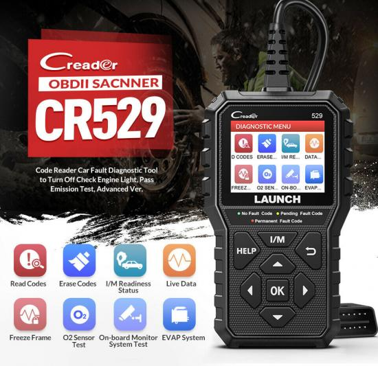 New Launch Creader 529 OBD2 scanner wholesale